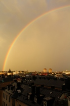 rainbows above Ostermalm