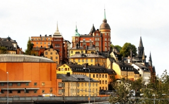 Sodermalm -- the island south of Gamla Stan where Swedenborg built his famous little house and garden