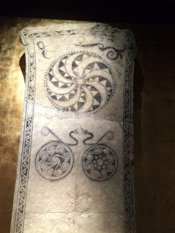 medieval picture stone from Gotland -- Visby Museum