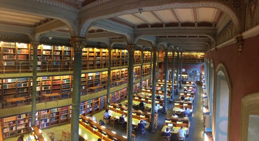 Kungliga Bibliothek, Stockholm -- the Royal National Library (another place where I work, where Swedenborg's Dream Diary is housed)