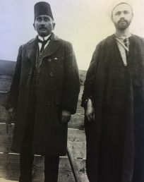 Ivan Agueli in Cairo, with an Egyptian man