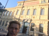 in front of the kungliga biblioteket